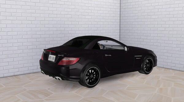 2012 Mercedes Benz SLK55 AMG from Modern Crafter