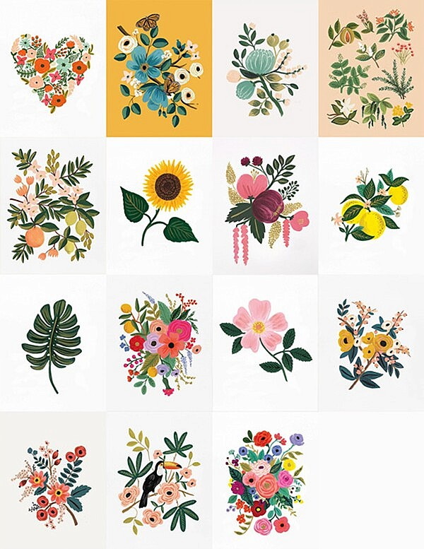 Rifle paper prints from LinaCherie