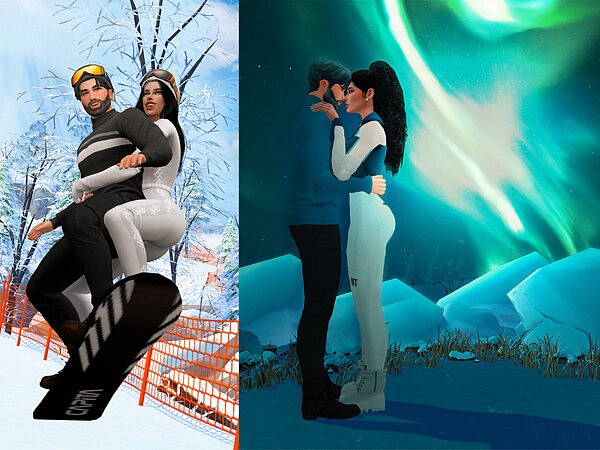 Winter Love Pose pack by Beto ae0 from TSR