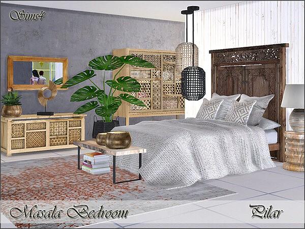 Masala Bedroom by Pilar from TSR