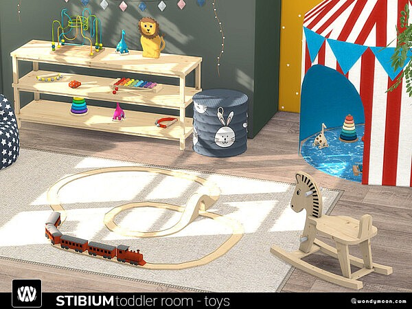 Stibium Toddler Room Toys by wondymoon from TSR
