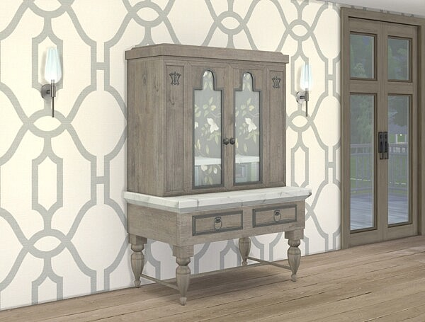 Upcycled Vintage Hutch from Simplistic