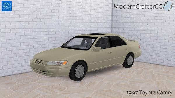 1997 Toyota Camry sims 4 cc