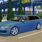 2008 Audi RS6 Avant Sims 4 CC 2