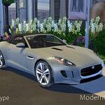 2014 Jaguar F Type sims 4 cc