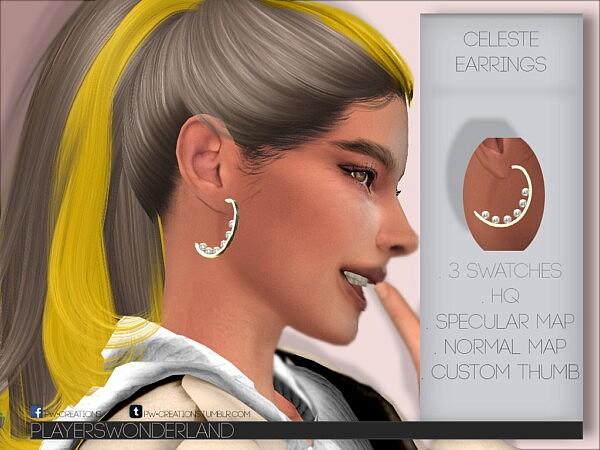 Celeste Earrings from Players Wonderland