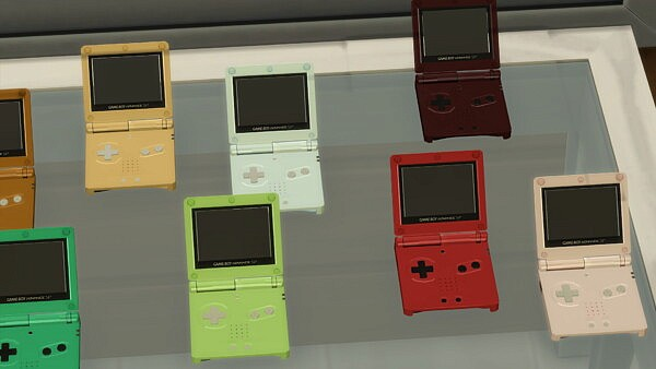 Usable Nintendo Game Boy Advance SP by LightningBolt from Mod The Sims