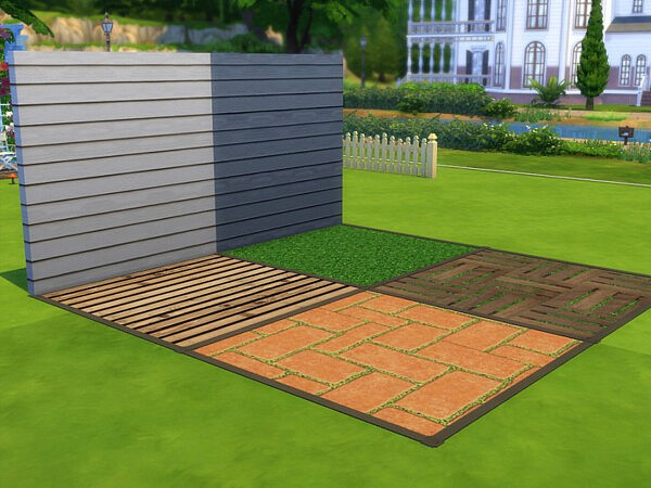 Up The Garden Path Floor and Wall Set by seimar8 from TSR