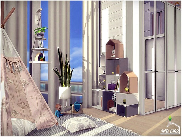 Simple Girls room by nobody1392 from TSR