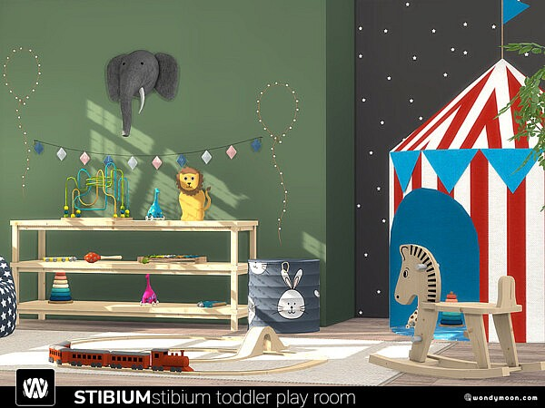 Stibium Toddler Play Room by wondymoon from TSR