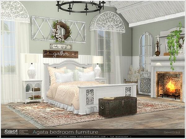 Agata bedroom furniture by Severinka from TSR