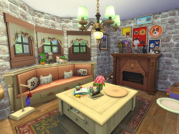 Crazy Cat Lady s Cottage by A.lenna from TSR