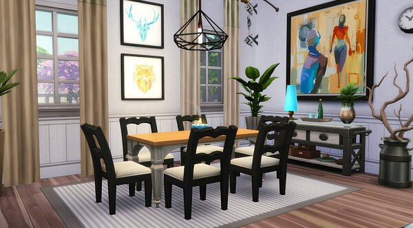 The Charleston House from Jenba Sims