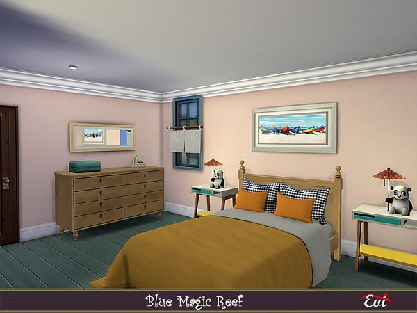 Magic blue reef villa by evi from TSR