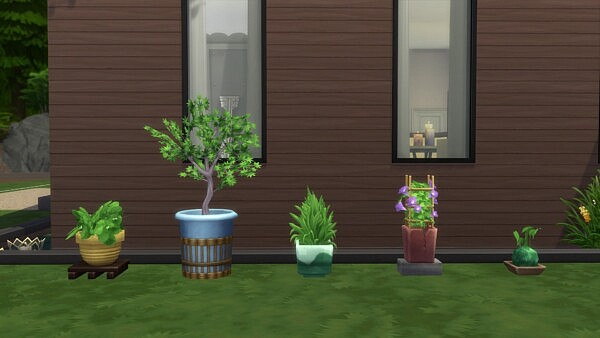 Amys Garden Plants by Teknikah from Mod The Sims