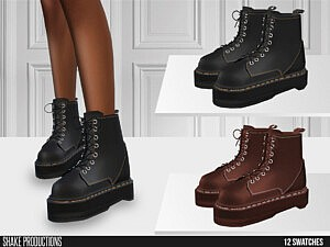 633 Leather Boots sims 4 cc