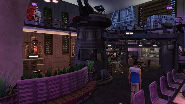 Star Wars Nightclub by bradybrad7 from Mod The Sims