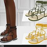 635 Sandals sims 4 cc