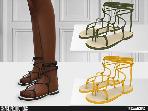 635 Sandals by ShakeProductions from TSR