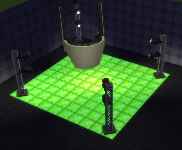 Dancin Glass Floor Tile by simmytime from Mod The Sims
