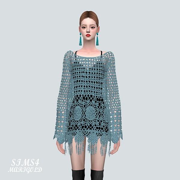 7 ST Mesh Mini Dress from SIMS4 Marigold