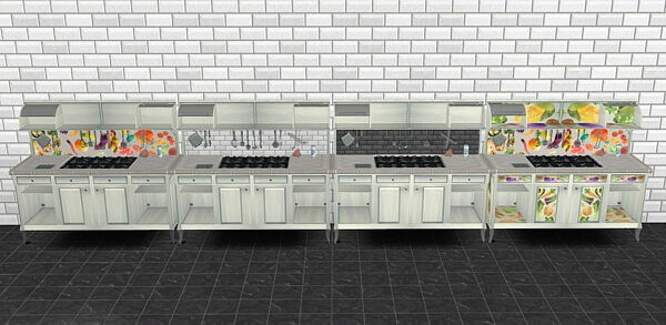 Icemunmun`s canning station recolors by remysa from Mod The Sims