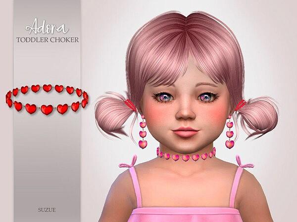 Adora Toddler Choker Sims 4 CC
