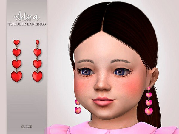 Adora Toddler Earrings by Suzue from TSR