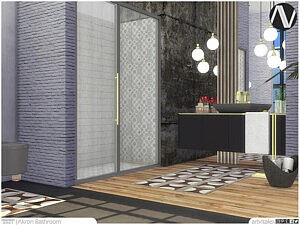 Akron Bathroom Sims 4 CC