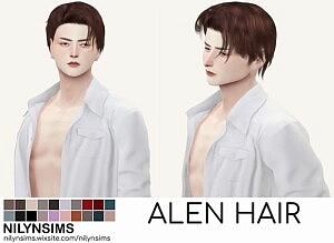 Alen Hair Sims 4 CC