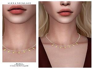 Alexa Necklace by Merci