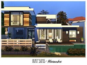 Alexandre House Sims 4 CC