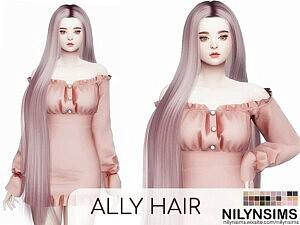 Ally Hair sims 4 cc