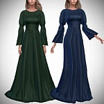 Althea Gown Sims 4 CC