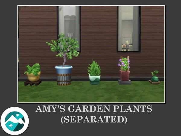 Amy's Garden Plants by Teknikah