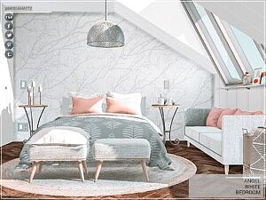 Angel White Bedroom