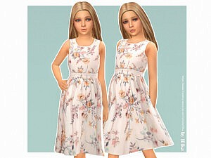 Antonia Dress Sims 4 CC