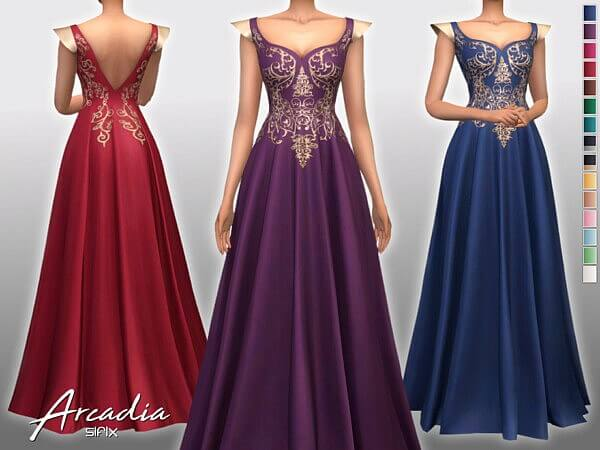 Arcadia Dress by Sifix from TSR