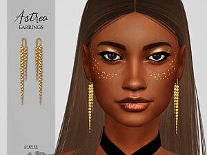 Astrea Earrings sims 4 cc