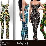 Audrey Outfit sims 4 cc