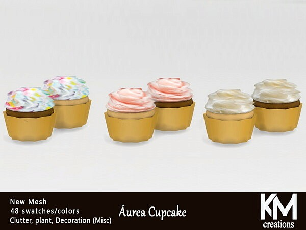 Aurea Cupcake from KM