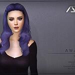 Awake Style 1 Hair sims 4 cc