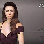 Awake Style 3 Hairstyle Sims 4 CC