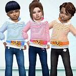 Babies Hoodie sims 4 cc