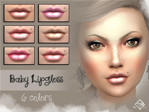 Baby Lipgloss Sims 4 CC