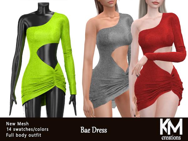 Bae Dress sims 4 cc