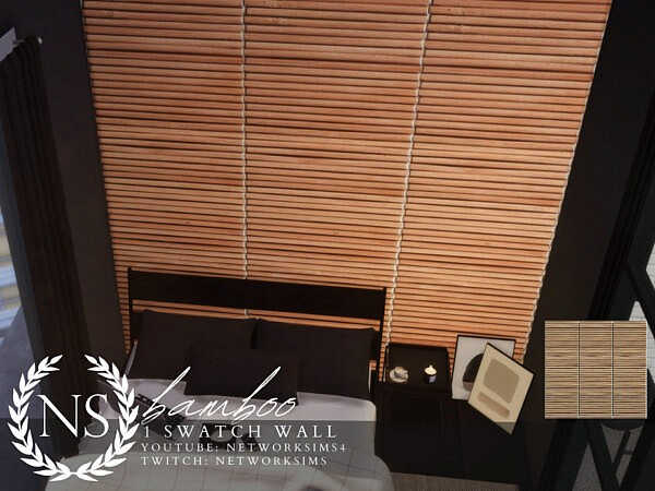 Bamboo Walls by Networksims from TSR
