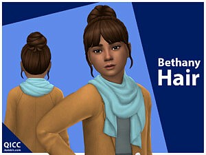 Bethany Hair sims 4 cc