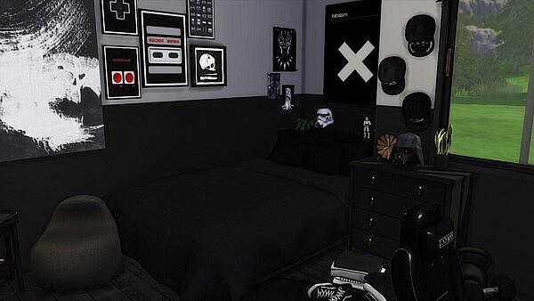 Black Room Sims 4 cc