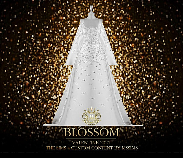 Blossom Valentine Gown from MSSIMS